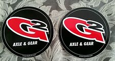 G2 AXEL AND GEAR STICKERS.  OFFROAD  DIFF  JK JEEP TRUCK