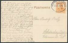 629859) DR Bahnpostblg. Herford - Altenbeeken 1916