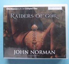 Raiders of Gor by John Norman, 11 CDs, Unabridged Audiobook, New, Sealed