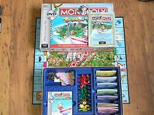 Tropical Tycoon DVD Edition Monopoly - complete with all parts and movers
