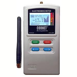 Cornet ED85EX Plus dual-mode RF LF EMF Electrosmog Gauss Meter Data Logger SMA