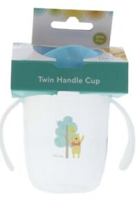 Cute Disney Baby Toddler Twin Handle Cup with Non Spill Cap - Winnie the Pooh