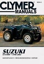 Suzuki LT-F500F 1998-2002 Workshop Manual