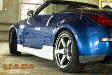 Nissan 350z Z33 Fairlady Nismo V1 Side Skirts for Body Kit V6