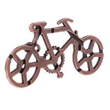 Advanced Metal Bike Puzzles Brain Teasers IQ Mind Test Toys for Adults Kids