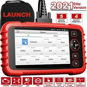 LAUNCH CRP129X Car Check Reset Engine/Transmission/ABS/SRS Code Reader Scanner