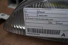 HOLDEN APOLLO L HEADLAMP JM-JP AUST TYPE (GLASS) 09/93-12/97 93 94 95 96 97