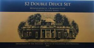 2013 $2 Double deuce Set