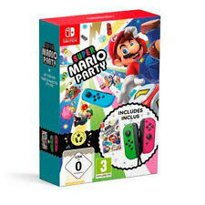 Super Mario Party Joycon Verde/rosa juego Físico mandos Nintendo switch