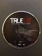 True Blood - Season 1 - Disc 2 - DVD Disc Only - Replacement Disc