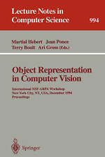 Object Representation in Computer Vision: International NSF-ARPA Workshop, New Y