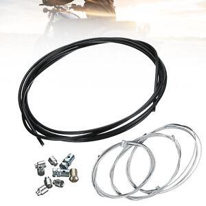 1 Set Motorcycle Universal Throttle,Clutch & Brake Emergency Cable Repair Kit