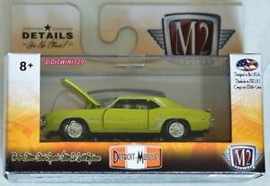 M2 Macchina 2018 Detroit-Muscle 1969 Chevrolet Camaro Rs Copo 427 R42