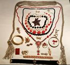 Lot+of+Vintage+Antique+Jewelry+Rope+Seed+Bead+Lariat+Flapper+Necklace+Tassels
