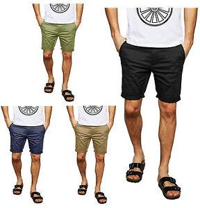 Mens Ultimate Chino Shorts Summer Half Pant Casual Jeans Cargo Combat Shorts
