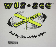 L * thin vtg 80s WUZ ZEE flying toy SCREEN STARS t shirt * 81.82