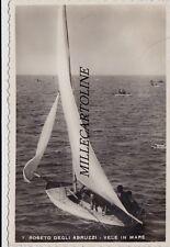 ROSETO DEGLI ABRUZZI: Vele in mare    1943