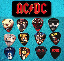 AC/DC -- Guitar Pick Tin includes 12 Guitar Picks