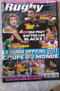 Rugby Coupe du Monde 2011 : le guide officiel, objet collector.