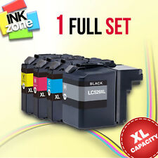 Full Set of non-OEM Ink for BROTHER DCP-J100 DCP-J105 MFC-J200 (LC525 LC529 XL)