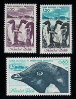FSAT TAAF Birds Adelie Penguins 3v 1980 ** MNH SG#149-151 MI#149-151 CV£8.60