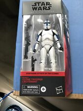 Clone Trooper Lieutenant Attack of the Clones Star Wars Black Series Walgreens