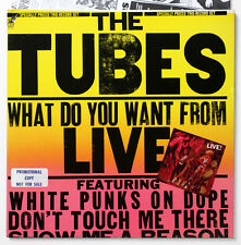 THE TUBES What do you want from live PROMO glam rock US 1978 A&M SP-6003 2 LP