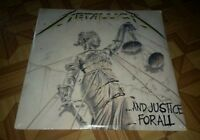 METALLICA And Justice For All Original 1988 Vinyl LP FACTORY SEALED NEW record