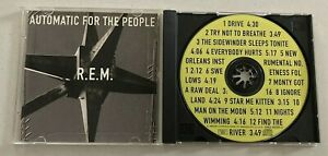 R.E.M AUTOMATIC FOR THE PEOPLE CD MINT PRESSING