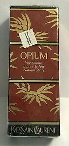 Opium Eau De Toilette Spray 1.6oz By YVES SAINT LAURENT For Woman Sealed
