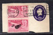 Estados Unidos Entero postal año 1958 (CF-992)