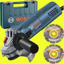 BOSCH Winkelschleifer GWS 880 125mm + KOFFER + 2 x DIAMANT-TRENNSCHEIBE 880Watt