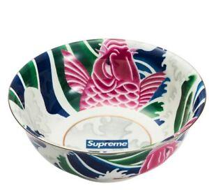 Supreme New / Ceramic Bowl / White / Multicolor / Confirmed Order with Supreme