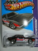 2013 Hot Wheels ~ 67' Camaro ~ Summit Racing ~ HW Showroom ~ Black ~ 244/250