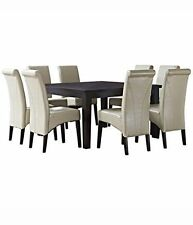 Oak Dining Furniture Sets With 9 Pieces Ebay