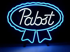 "New Pabst Blue Ribbon Beer Neon light Sign 17""x14"""