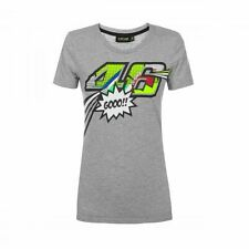 VR46 Woman Pop Art T-Shirt M Valentino Rossi Shirt grau/melange NEU / NEW