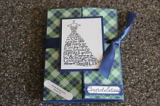 Stampin Up wedding card Love & Laughter Pestwick Homemade greeting card