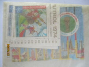 Football World Championships 1974 Guinea 9 Values +2 Blocks Mint Ovp (3052)