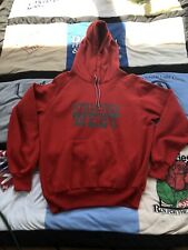 Vintage Nike Athletics West Hoodie Sweatshirt Rare Red (M/L) See Description