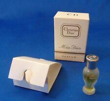 Perfume by Christian Dior Parfum Bottle Sample Not For Sale Box mini 1/28 Fl. Oz