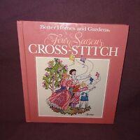 Four Seasons Cross-Stitch Book 1990 Better Homes Gardens Patterns Samplers Birds