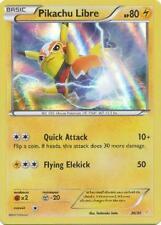 4X HOLO Pikachu Libre (30/30) Trainer Kit Pikachu Libre Suicune-NM-Pokemon-Promo