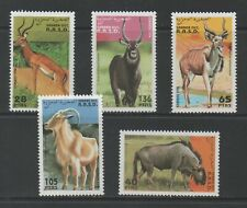 Thematic Stamps Animals - SAHARA 1994 HORNED ANIMALS 5v mint