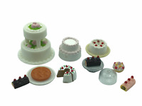 Calico Critters Sylvanian Families Wedding Cakes and Cake Spares Bakery
