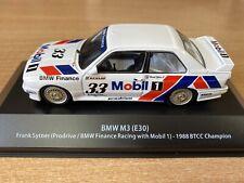 """BMW M3 (E30) """"Mobil""""  1988 BTCC Champion   FRANK SYTNER  1:43 Atlas Very Rare"""