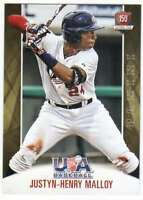 2015 Panini USA Baseball National Team Card #62 Justyn-Henry Malloy