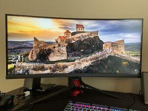 "Asus 35"" gaming monitor curved"