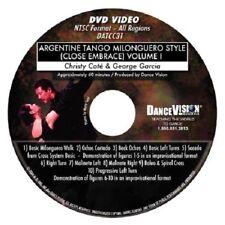 ARGENTINE TANGO Milonguero Style Close Embrace Volume I Dance Vision DVD DATCC31