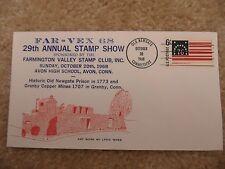 US Envelope FAR-VEX 68 - 29th Annual Stamp Show 1968